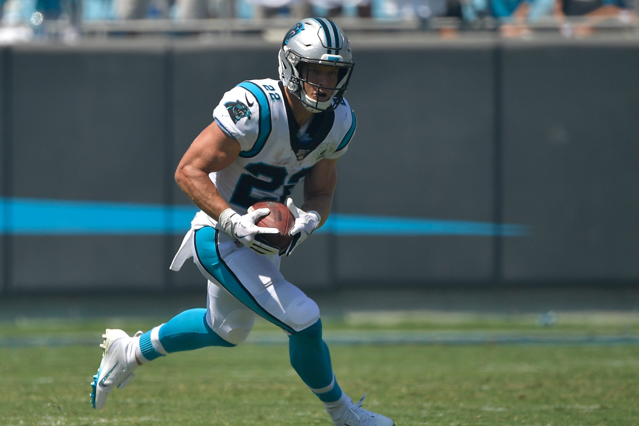 The NFL's Best Running Back, Christian McCaffrey, on the Importance of Being Versatile
