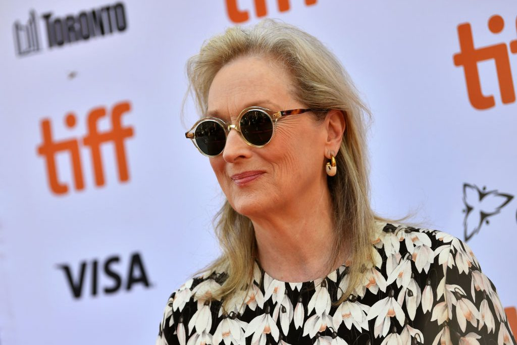 Meryl Streep attends the North American Premiere of 'The Laundromat' at the The Princess of Wales Theatre on September 09, 2019 in Toronto, Canada. (Photo by Emma McIntyre/Getty Images for Netflix)