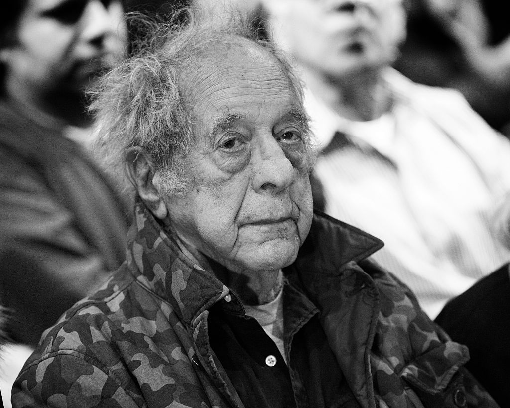 "Photographer Robert Frank attends the opening of ""Robert Frank, Books And Films, 1947 - 2016"" at The Tisch Galleries on January 28, 2016 in New York City."