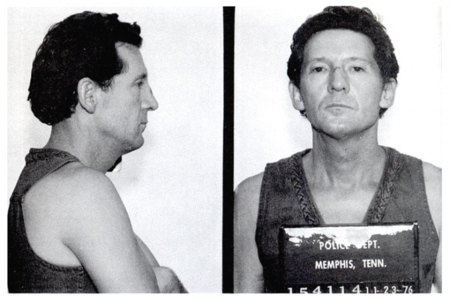 Two of Jerry Lee Lewis' wives died under mysterious circumstances. (Photo courtesy Bureau of Prisons/Getty Images)