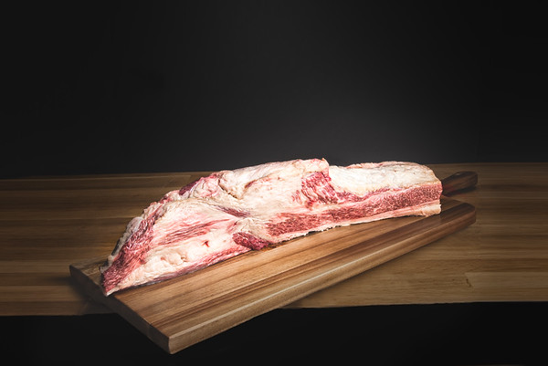 Japanese Olive Wagyu Brisket Is Imported by Crowd Cow.