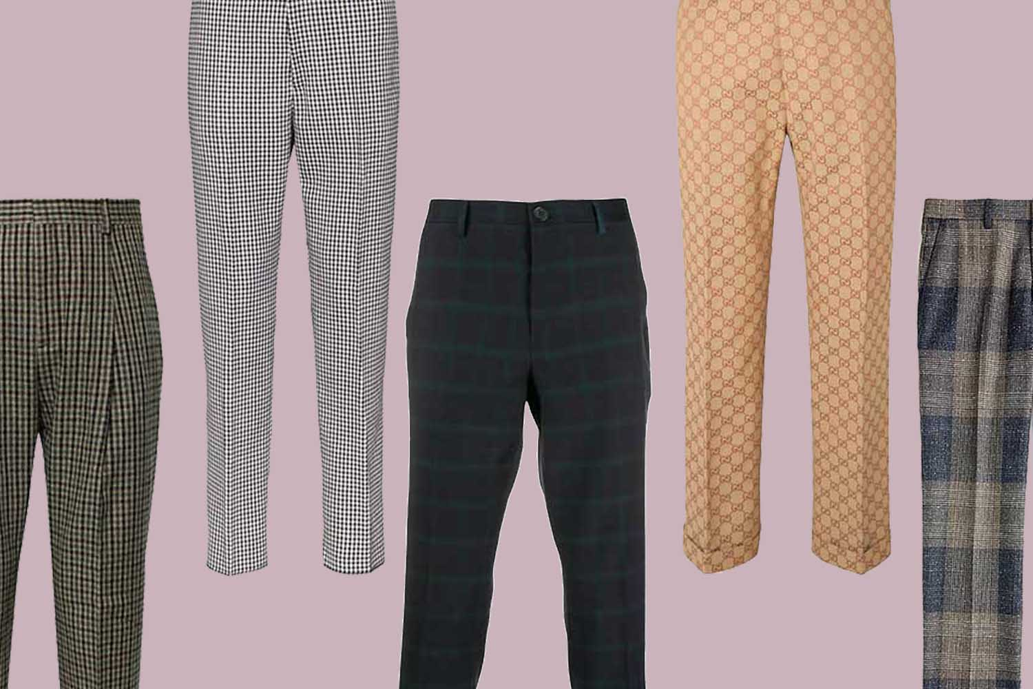 This Season, Fear Not the Patterned Pant