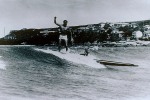 Surfing in 1945