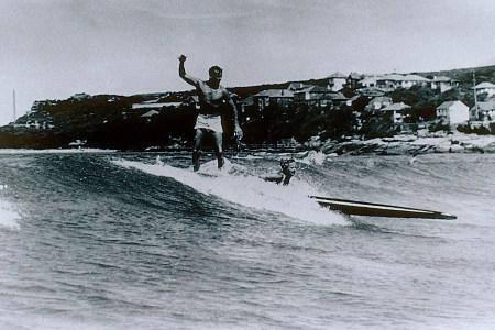 Surfing in 1945