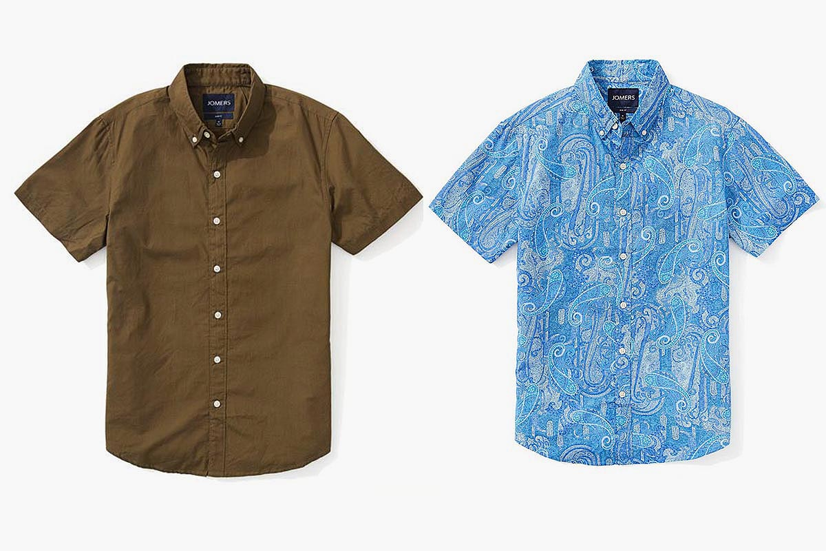 Jomers Is Throwing a Short-Sleeve Shirt Sale Just for You