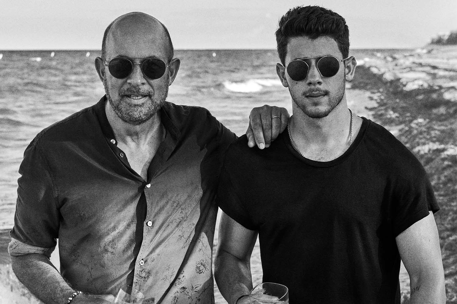 John Varvatos and Nick Jonas