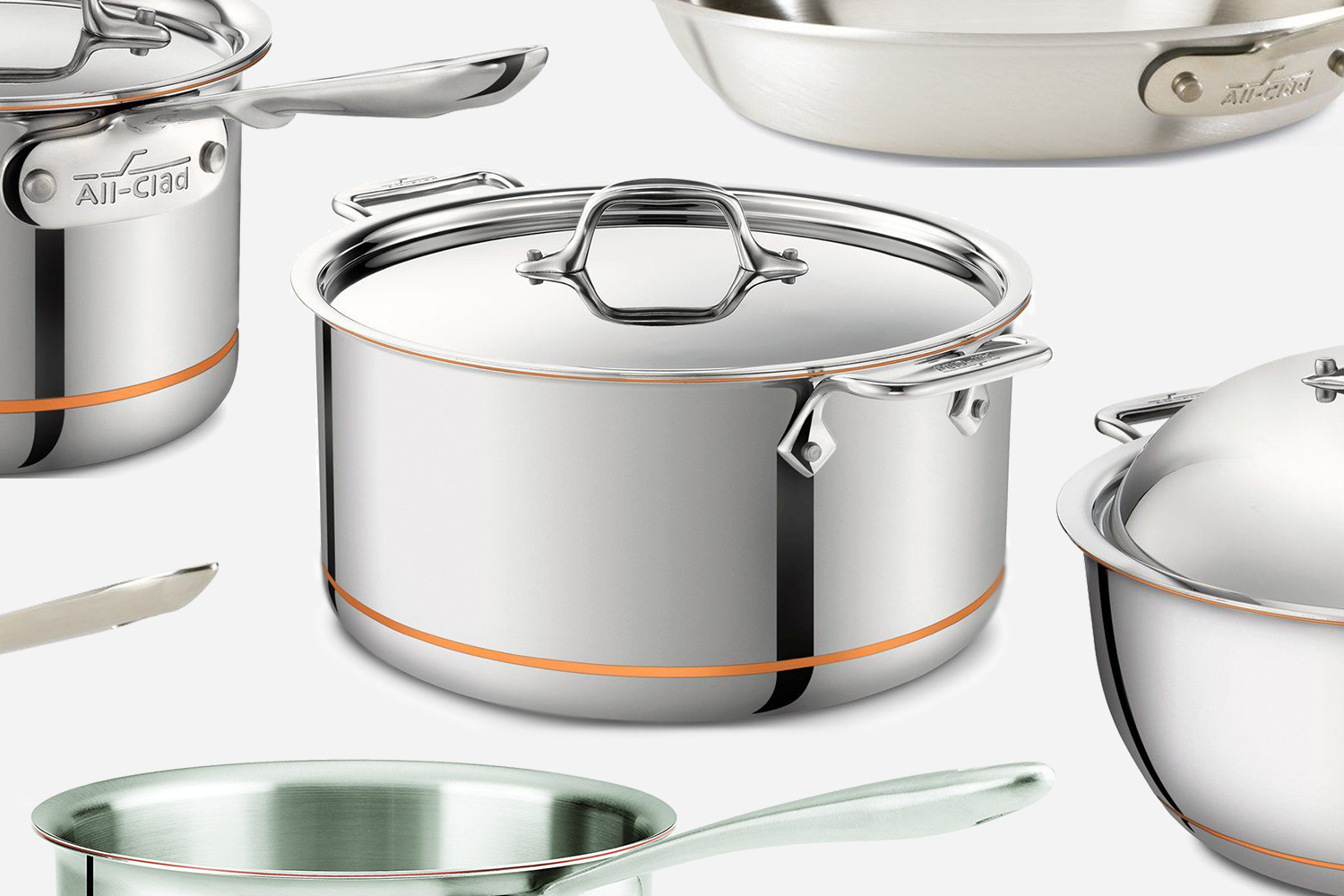 All-Clad Cookware Pots and Pans
