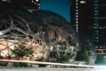 Amazon Sphere Seattle, Washington Headquarters