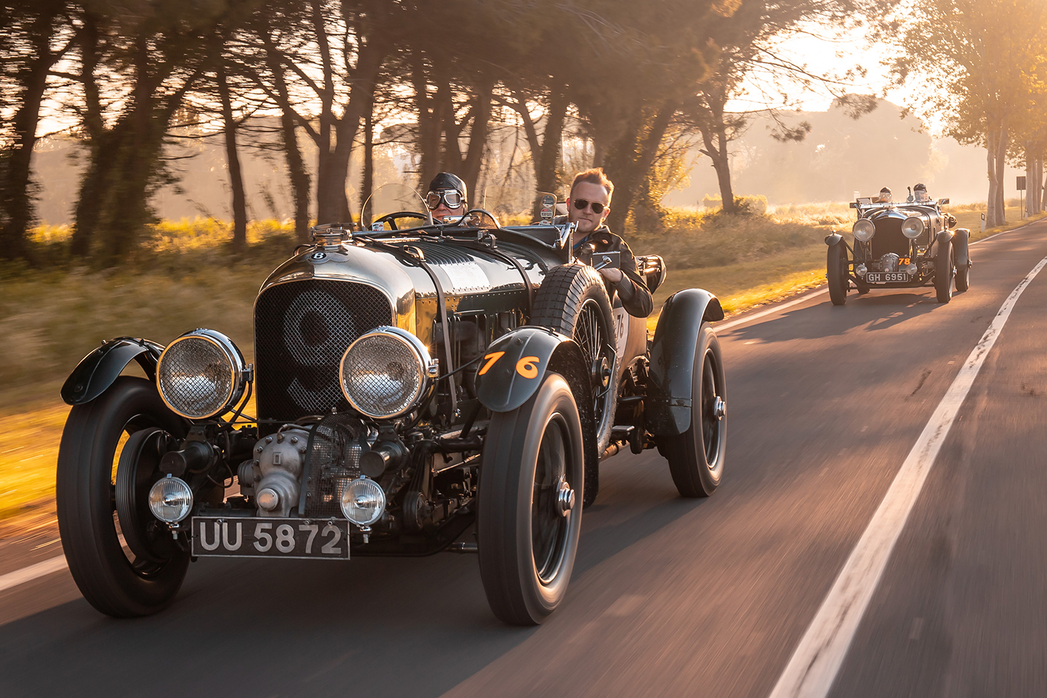 Bentley Is Building 12 1929 Team Blower Continuation Race Cars