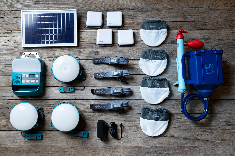 Emergency Preparedness Light, Power and Water Kits From BioLite