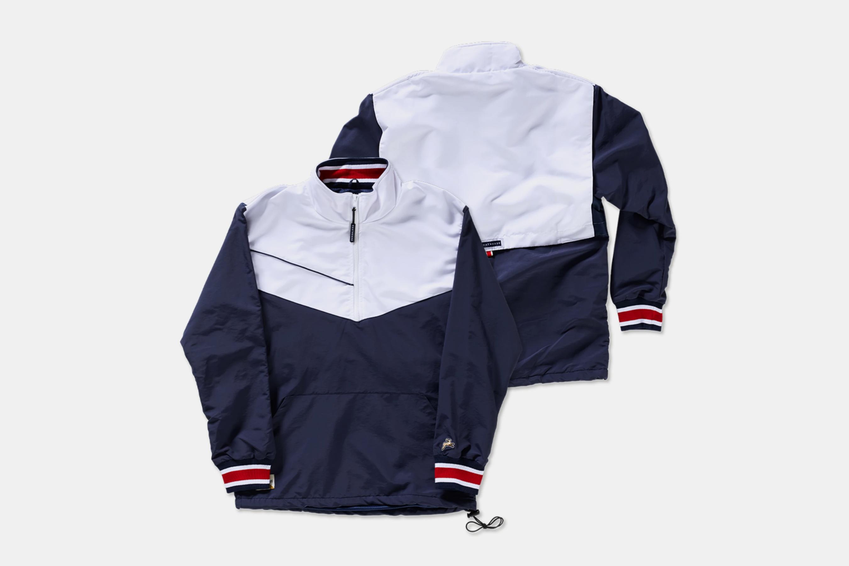 boathouse tracksmith team jacket