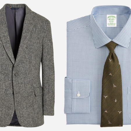 Brooks Brothers Sport Coat and Oxford Shirt