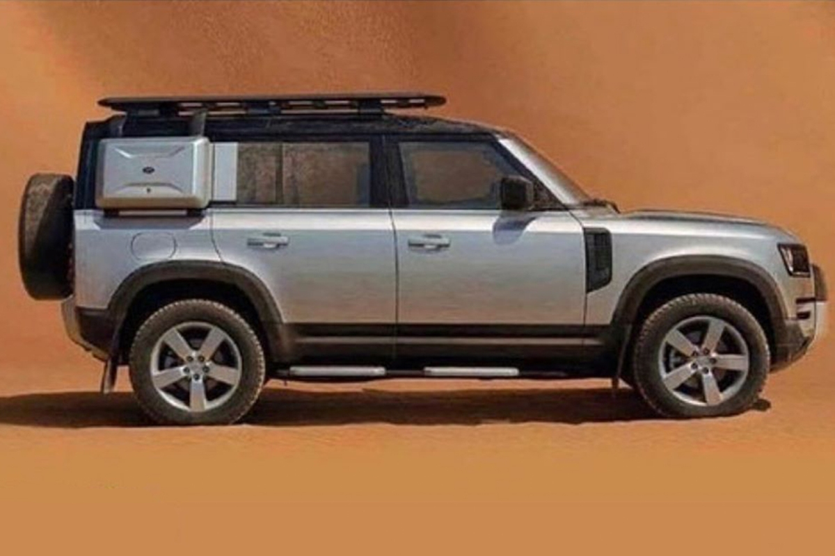See Leaked Photos of the New Land Rover Defender - InsideHook