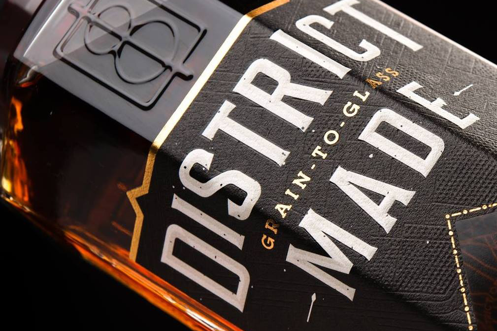 one eight distillery district made