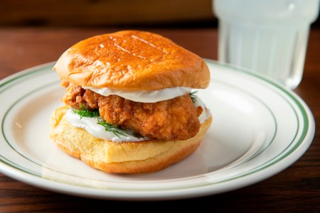 chicken sandwich empellon al pastor