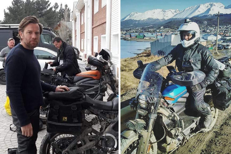 Ewan McGregor Long Way Up Harley-Davidson LiveWire