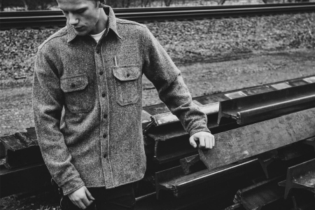 Faribault Woolen Mill Co. Tellason Clampdown Work Shirt