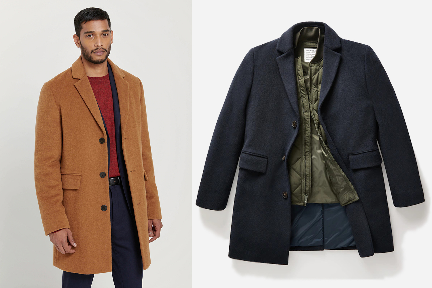 Frank And Oak Smart-Layering Menswear Fall Winter 2019 Collection