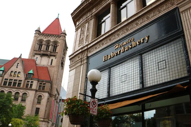 Heimie's Haberdashery in St. Paul, Minnesota