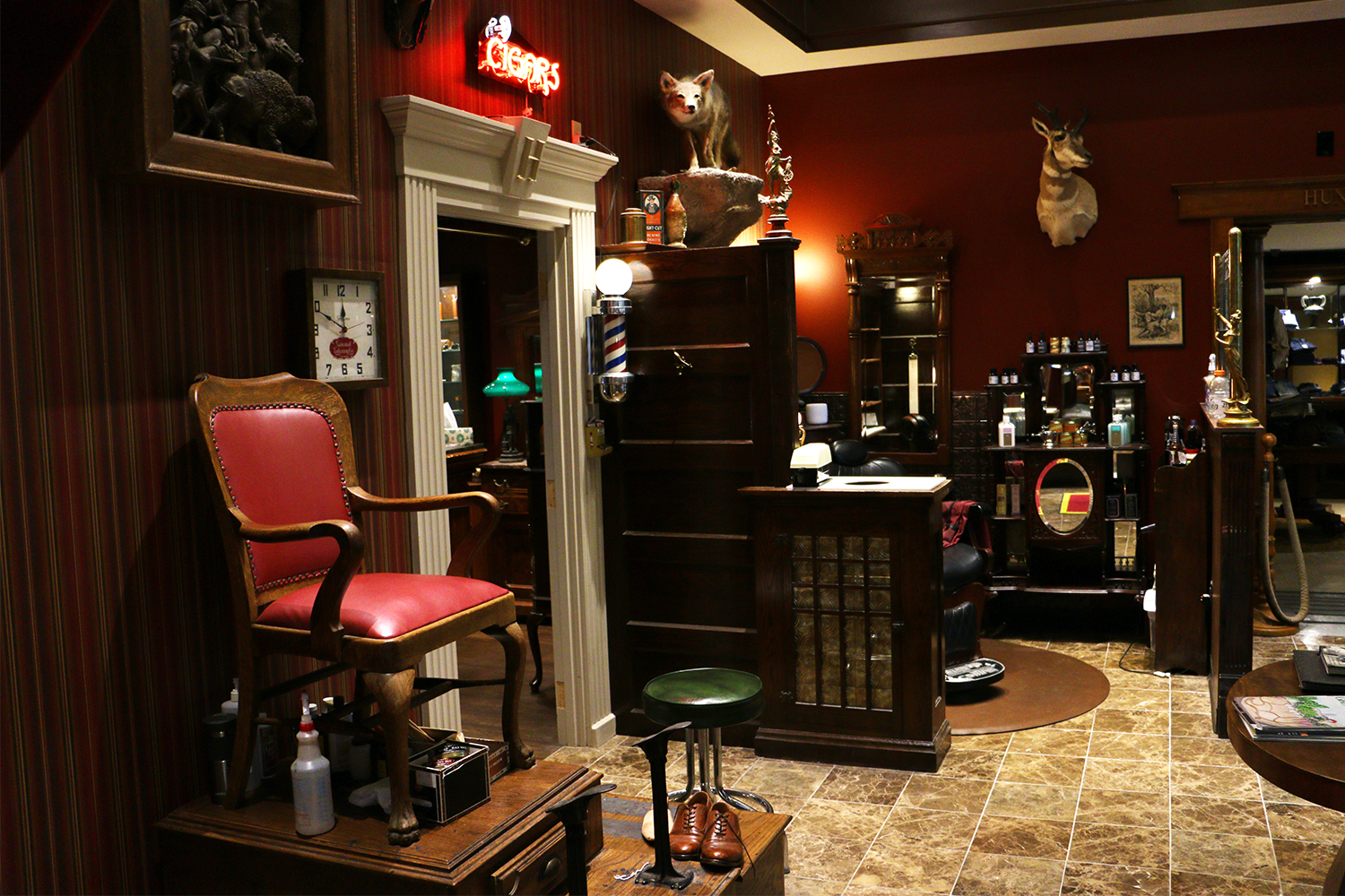 Heimie's Haberdashery Shoe Shine and Barbershop