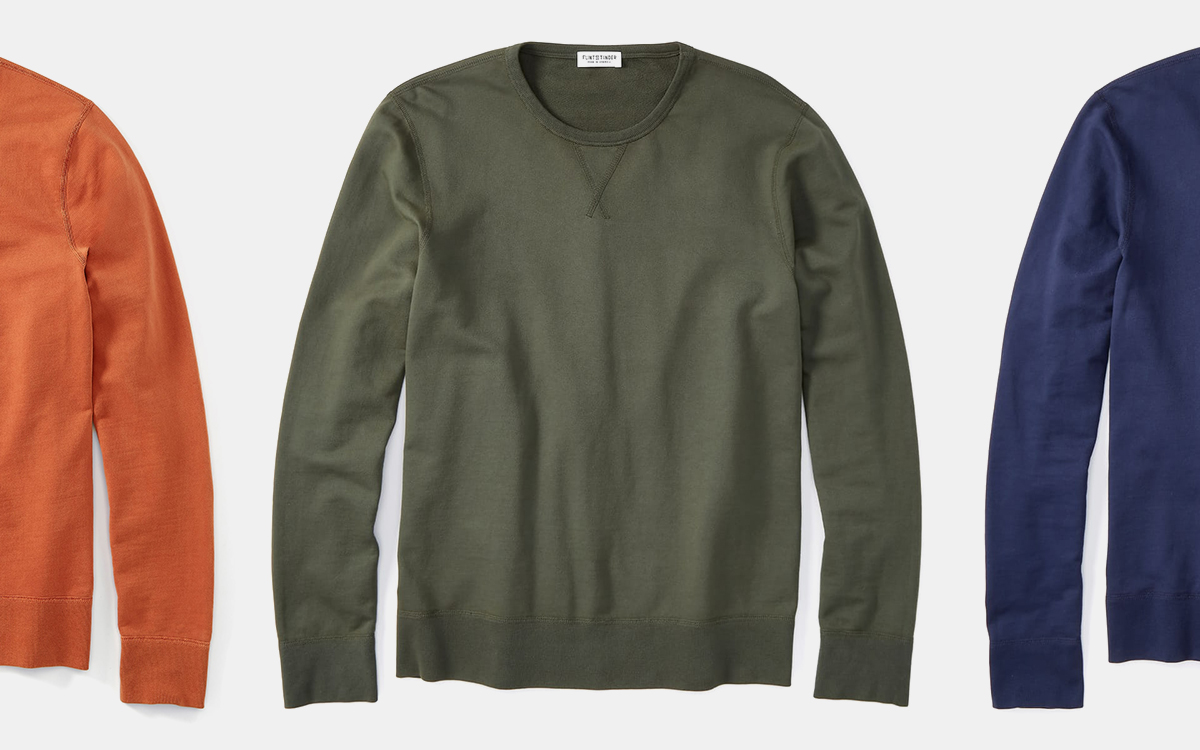 Deals on Huckberry Sweatshirts