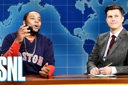 "Watch: ""Saturday Night Live"" Pokes Fun at David Ortiz, Addresses His Shooting"