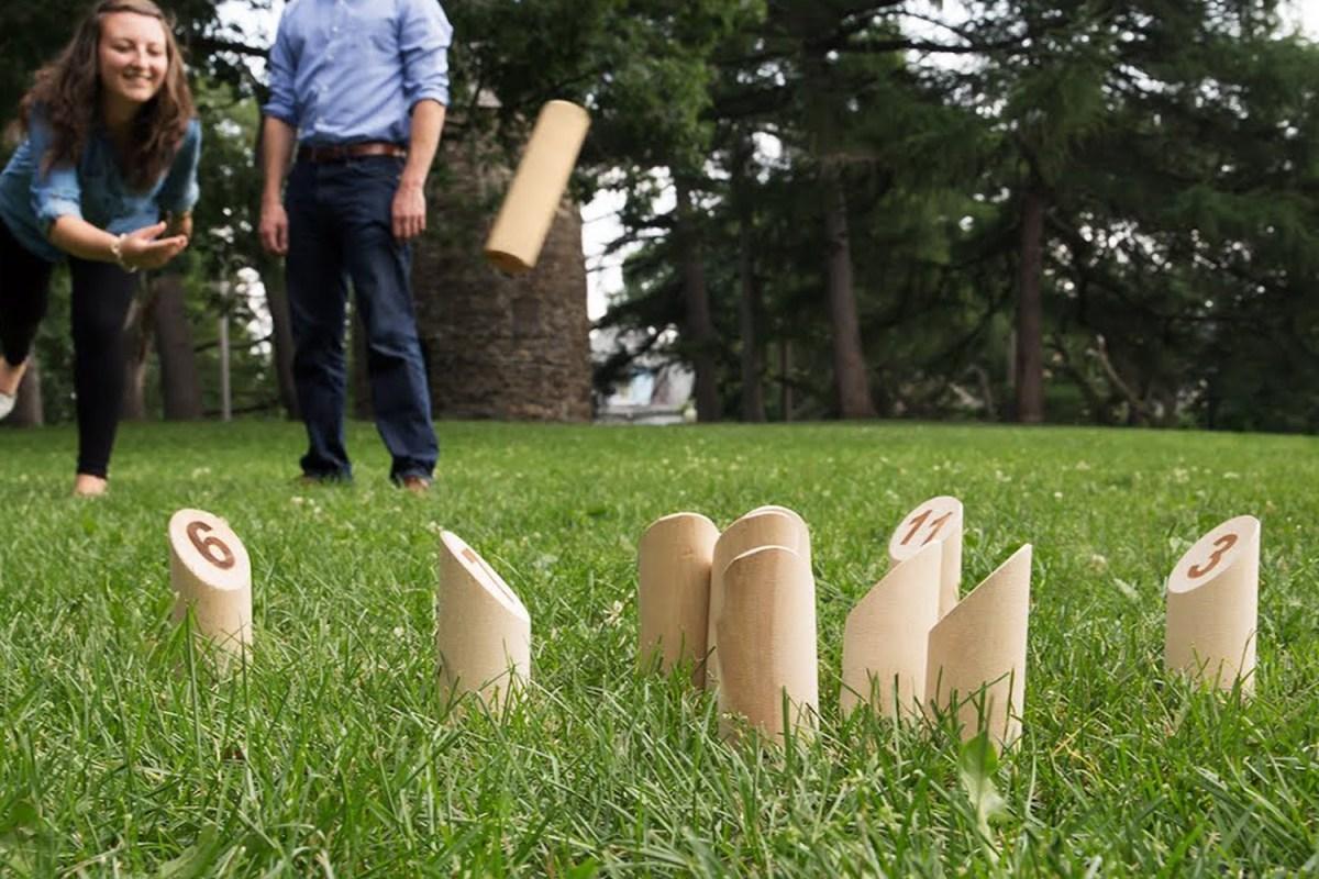 molkky lawn game