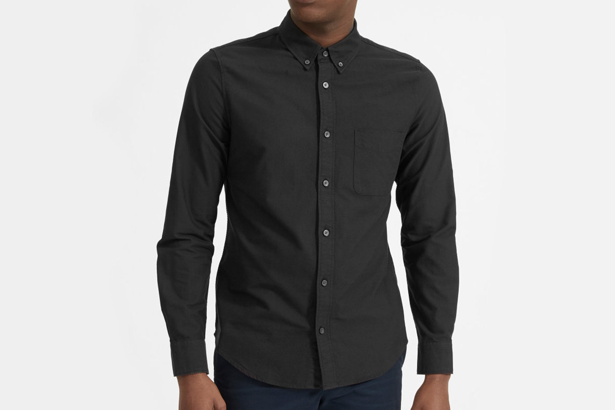 Everlane Uniform Slim Fit Japanese Oxford