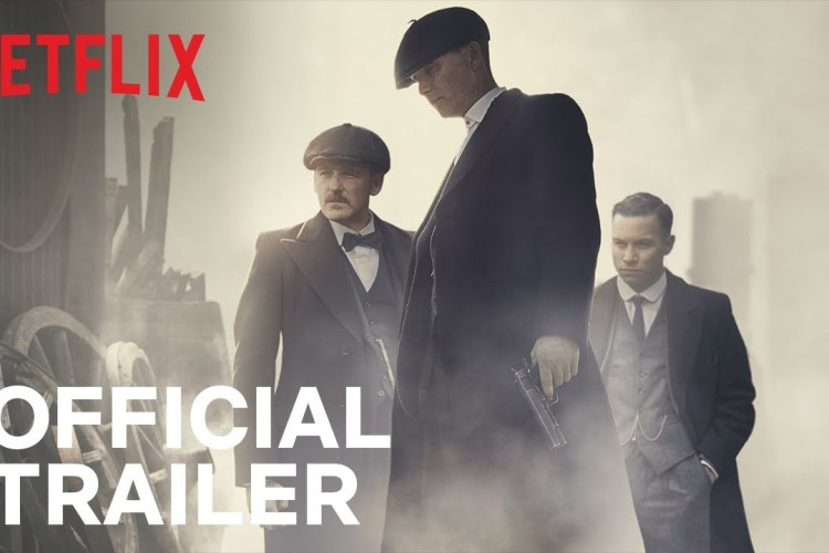 "Guns, Glowering and Crucifixions in the Trailer for ""Peaky Blinders"" Season 5"