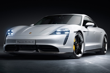 Electric Porsche Taycan Turbo and Turbo S