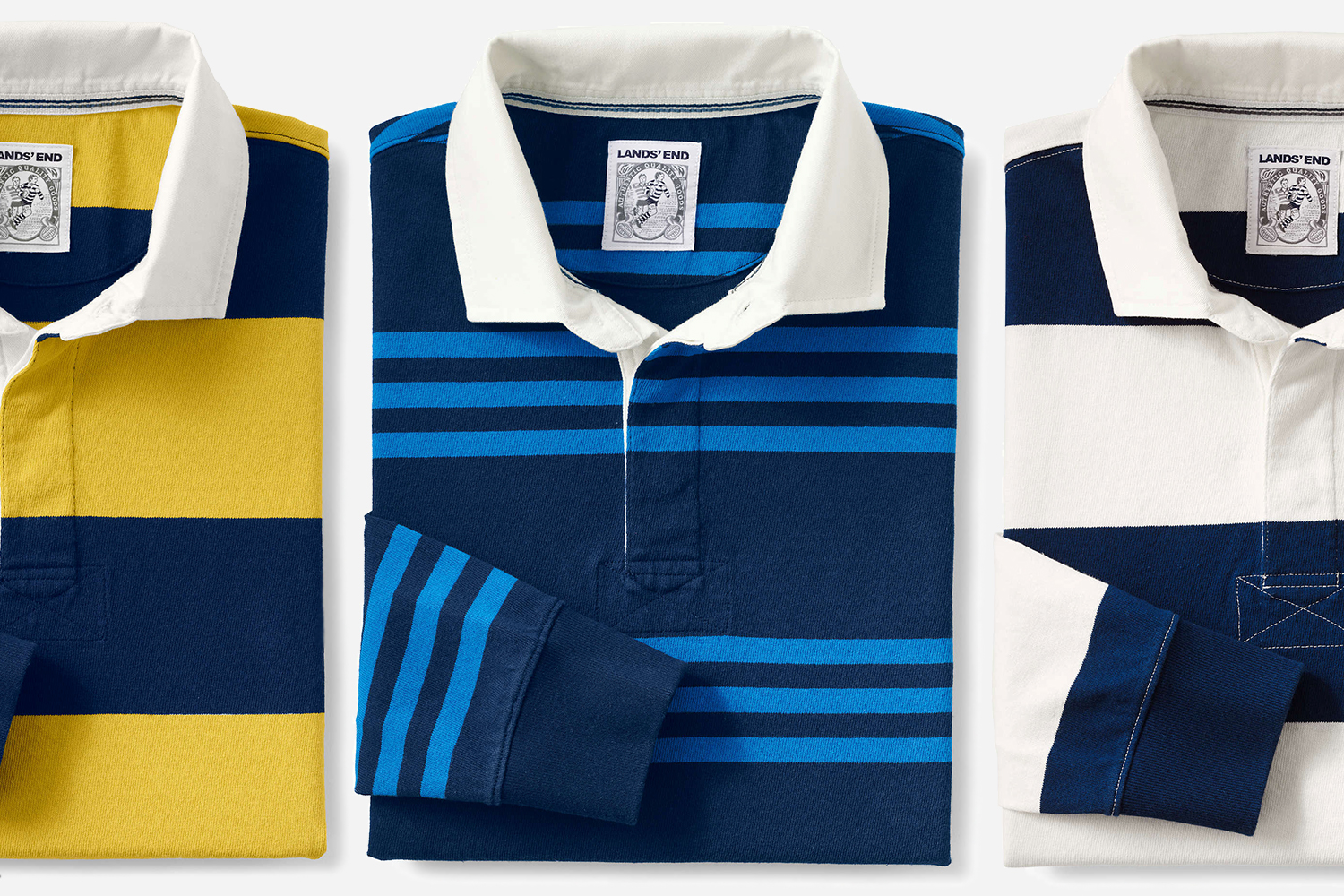 Lands' End Rugby Shirts