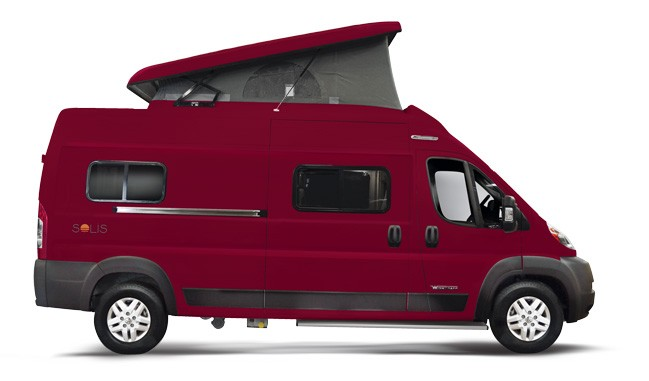 New Winnebago Camper Van Comes With Pop-Top