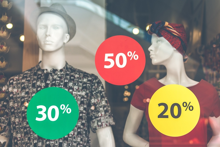 Clothing Store Sale