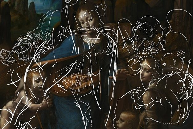 "National Gallery Reveals Hidden Sketches Beneath da Vinci's ""Virgin of the Rocks"""