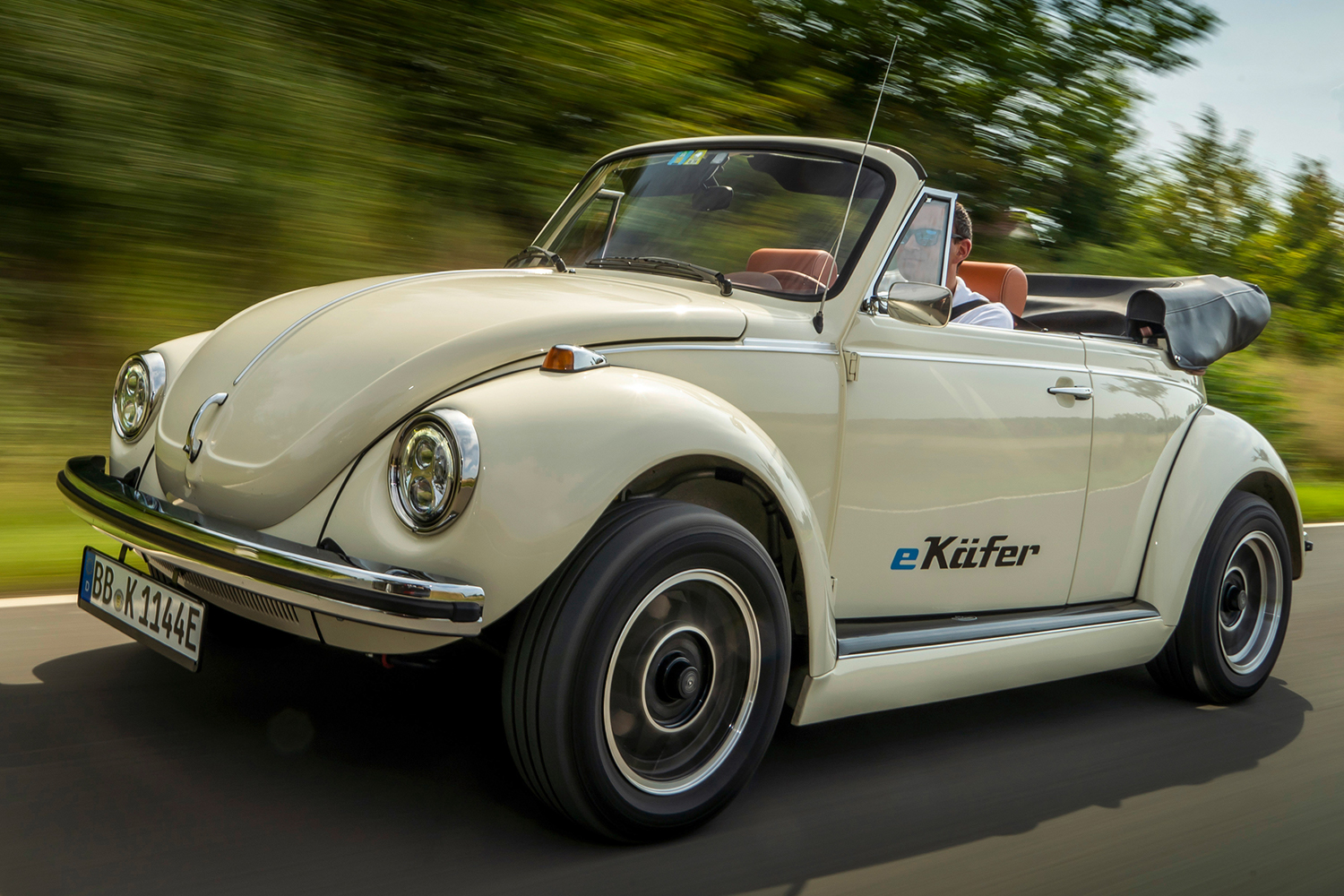 Volkswagen e-Beetle 1973 Super Beetle Electric Conversion