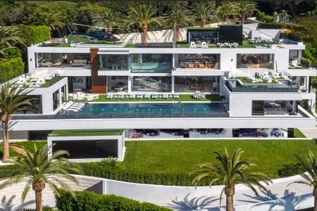 A spec mansion was developed by Bruce Makowsky
