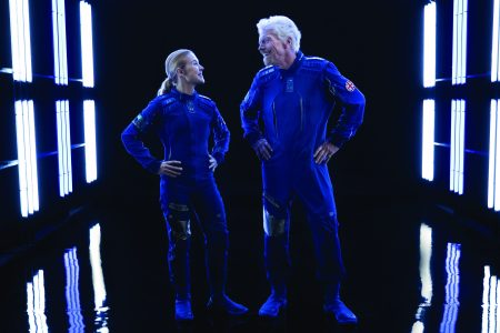 Virgin Galactic and Under Armour Unveil World's First Commercial Spacesuit