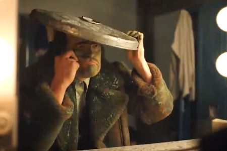 """David Harbour as Oscar the Grouch on """"Saturday Night Live."""""""