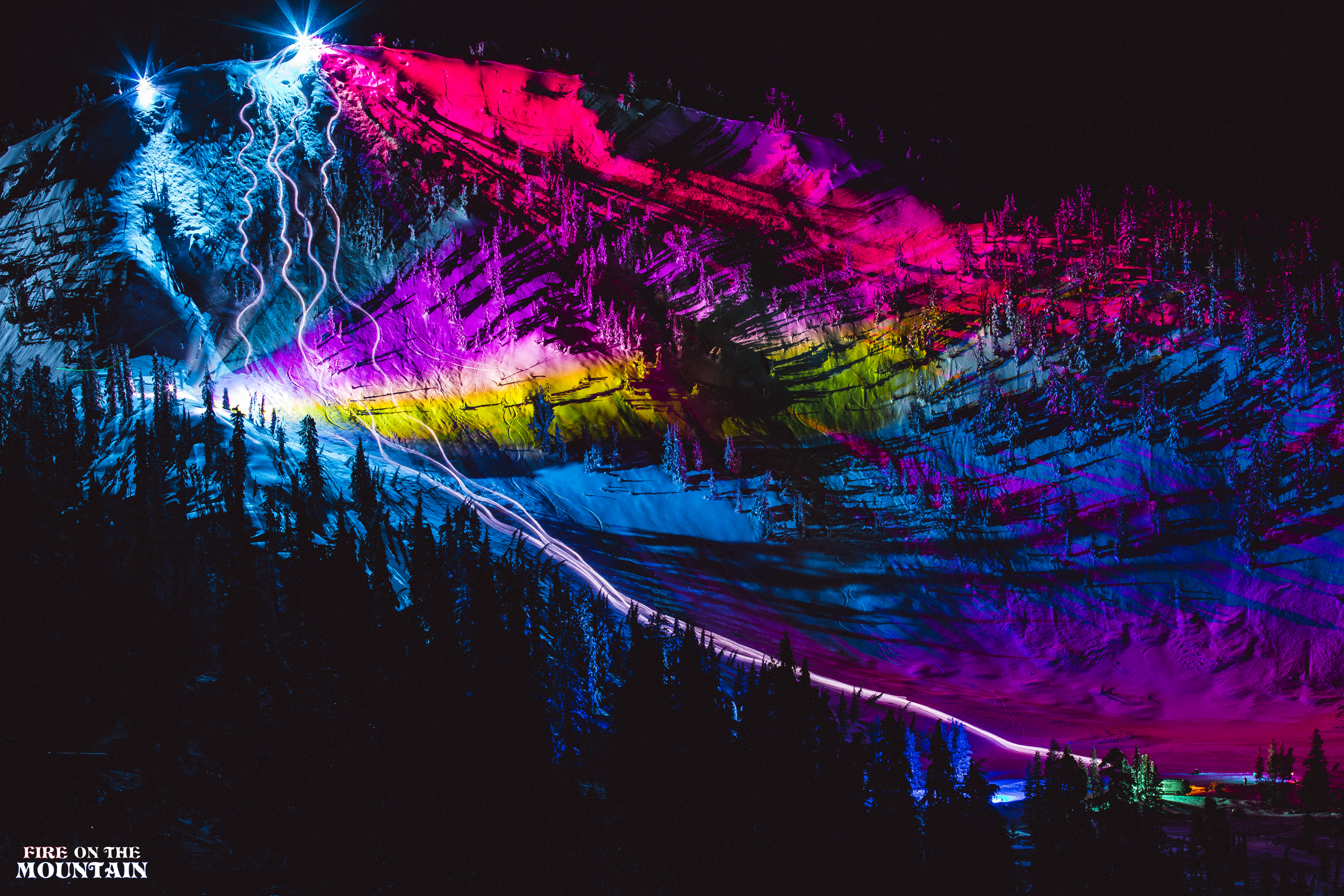 """Fire On The Mountain"" is a visual journey blending action sports, art, and music."