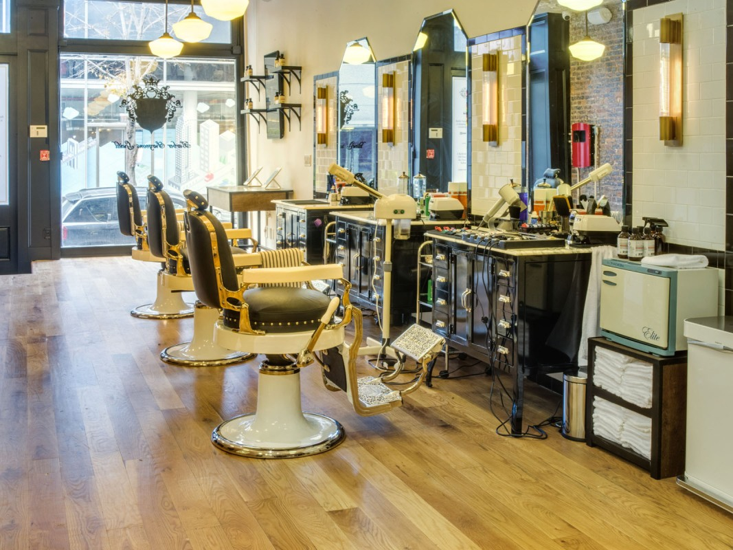 Inside the Barber Surgeons Guild Soho location