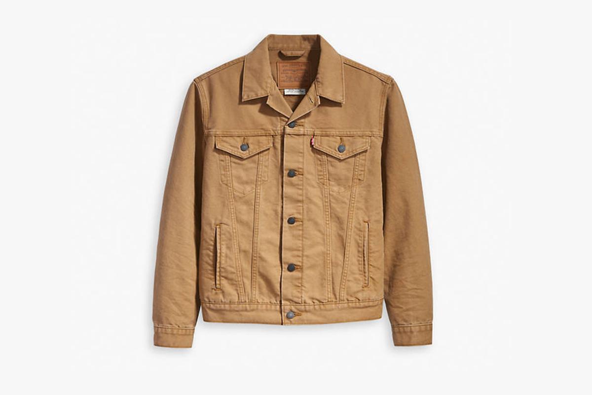 Canvas Trucker Jacket