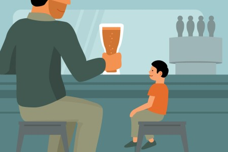 Ask A Cool Dad: Once and for All, Can I Bring My Kid to a Bar?