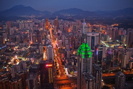 Shenzhen looks to compete with Beijing and Shanghai