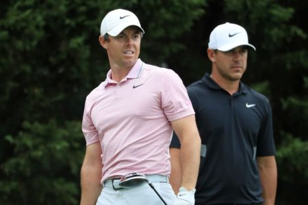 Brooks Koepka Says He Doesn't View Rory McIlroy as His Rival