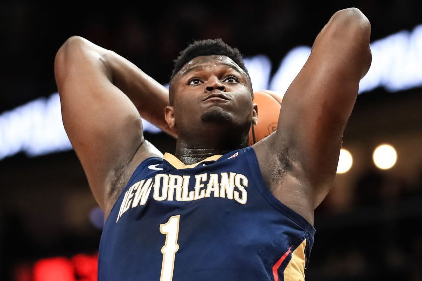 Zion Williamson Brings Down the House in Preseason Debut