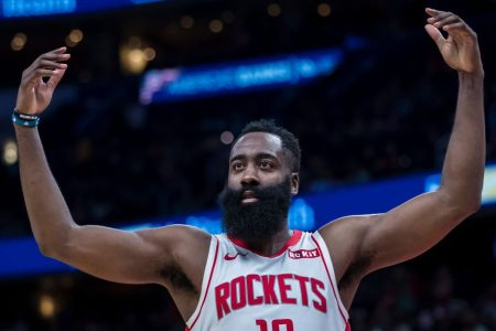 James Harden Blasts Off for 59 Points as Rockets Score 159 in Win