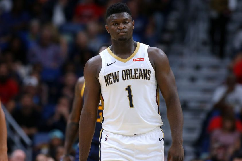 Zion Williamson Is Putting Up Historic Numbers in Preseason