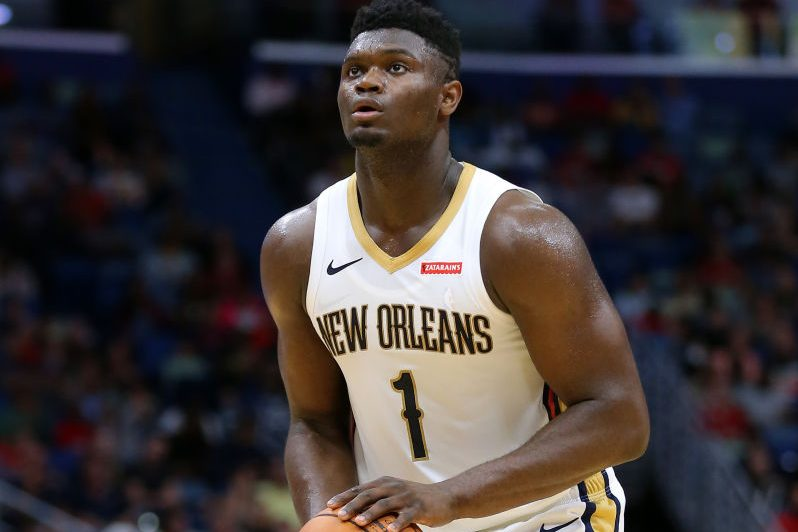 No. 1 Draft Pick Zion Williamson Getting Close to Making NBA Debut