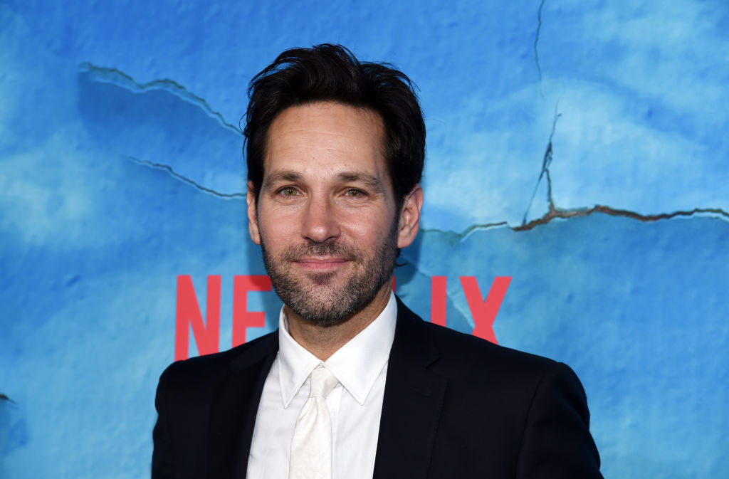 "Paul Rudd arrives at the premiere of Netflix's ""Living With Yourself"" at ArcLight Hollywood on October 16, 2019 in Hollywood, California. (Photo by Amanda Edwards/WireImage)"