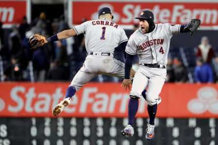 Astros On Verge of Closing Out Yankees After 8-3 Game 4 Win in ALCS
